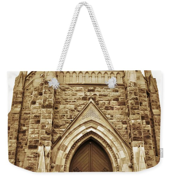 Late For His Own Funeral Weekender Tote Bag
