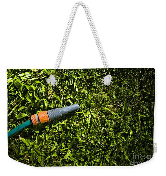 Lawn Maintenance And Garden Care Weekender Tote Bag