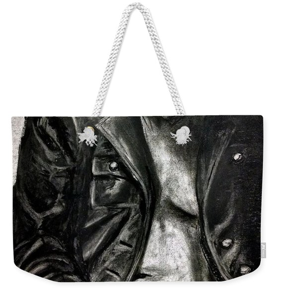 Leather Jacket Weekender Tote Bag