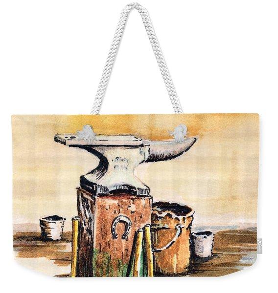 Lee's Anvil Weekender Tote Bag