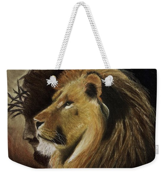 Lion Of Judah Weekender Tote Bag