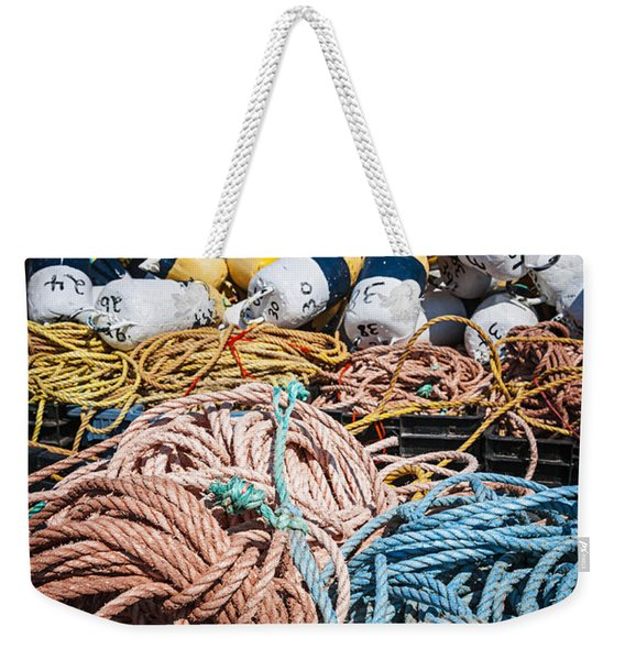 Lobster Fishing Weekender Tote Bag