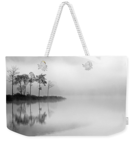 Loch Ard Trees In The Mist Weekender Tote Bag