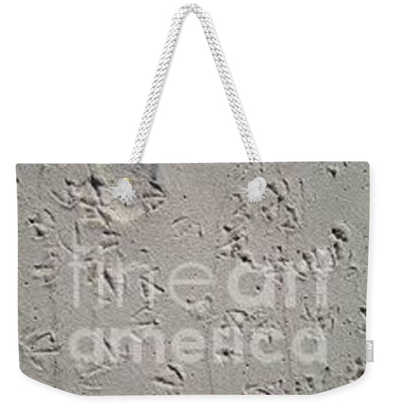 Weekender Tote Bag featuring the photograph Lost by Laurie Lundquist
