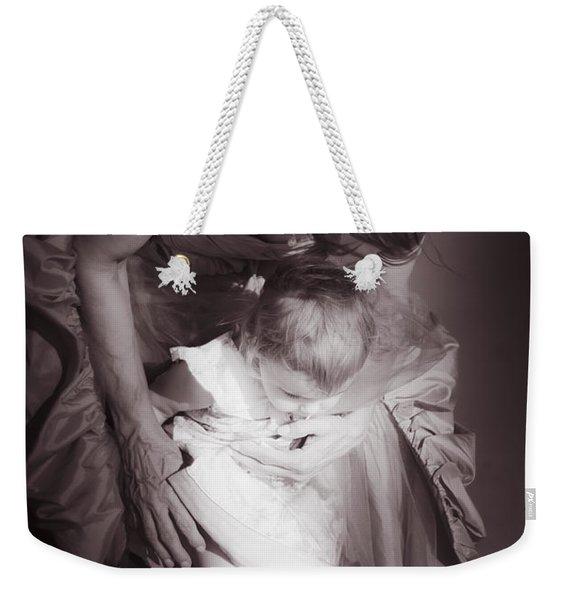 Love And Trust Weekender Tote Bag