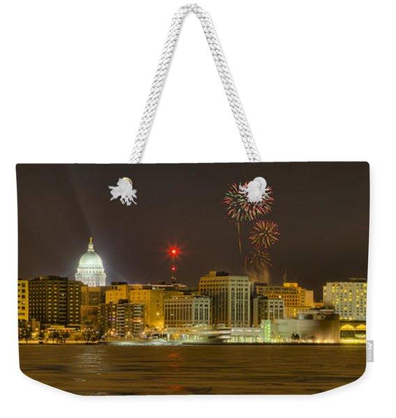Madison New Years Eve Weekender Tote Bag