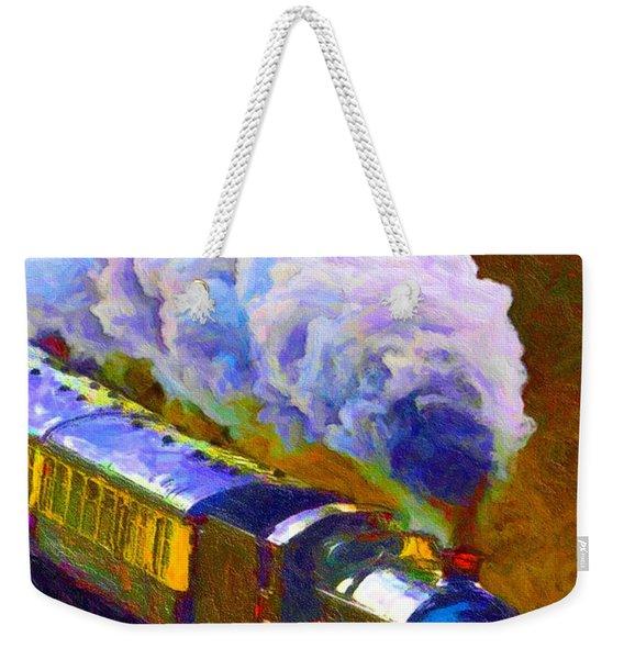 Making Smoke Weekender Tote Bag