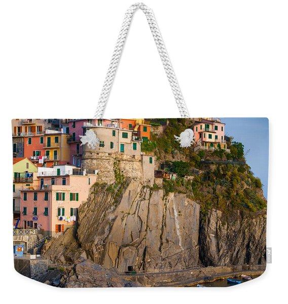 Manarola Afternoon Weekender Tote Bag