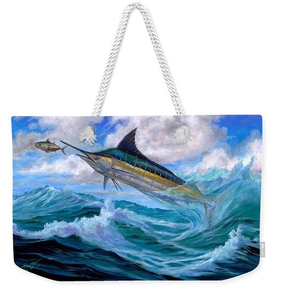 Marlin Low-flying Weekender Tote Bag