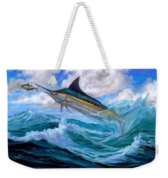 Marlin Low-flying Weekender Tote Bag