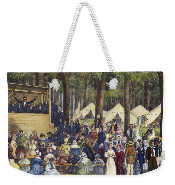 Methodist Camp Meeting Weekender Tote Bag