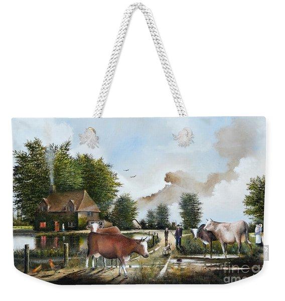 Milking Time Weekender Tote Bag