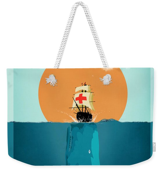 Moby  Weekender Tote Bag