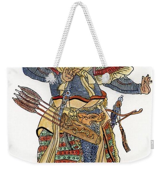 Mongol General Weekender Tote Bag