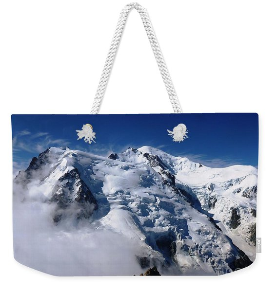 Mont Blanc - France Weekender Tote Bag