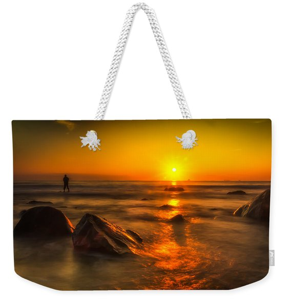 Montauk New York Summer Sunrise Weekender Tote Bag