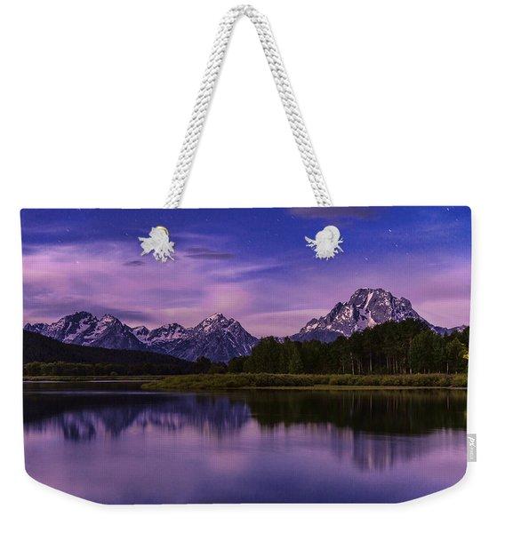 Moonlight Bend Weekender Tote Bag