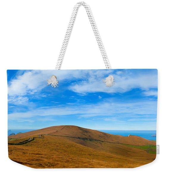 Moor Landscape Of Coomanaspig Pass Weekender Tote Bag