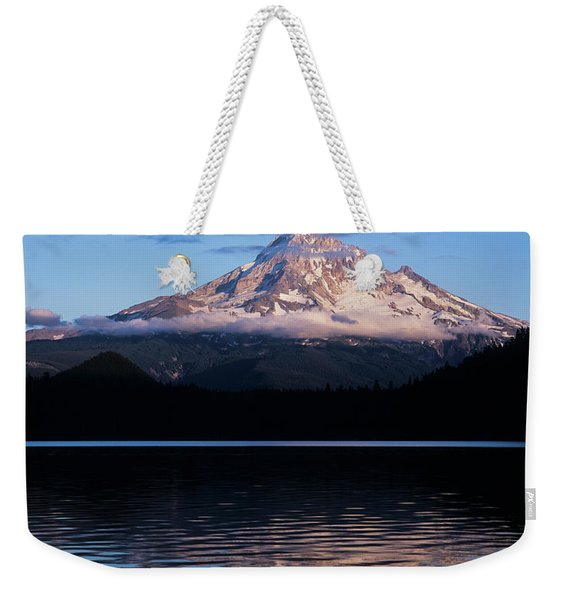 Mount Hoods Looms Over Lost Lake  Hood Weekender Tote Bag