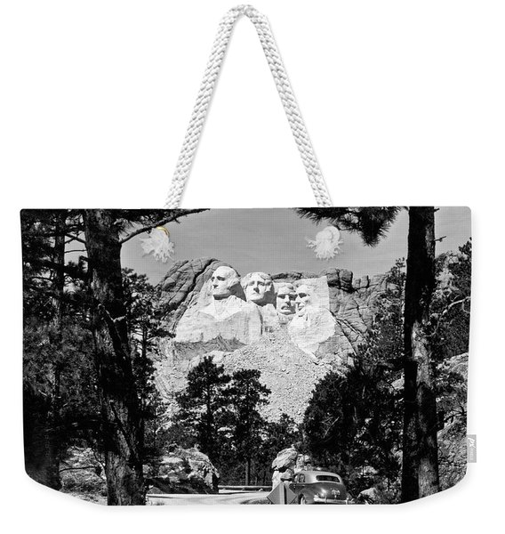 Mount Rushmore In South Dakota Weekender Tote Bag