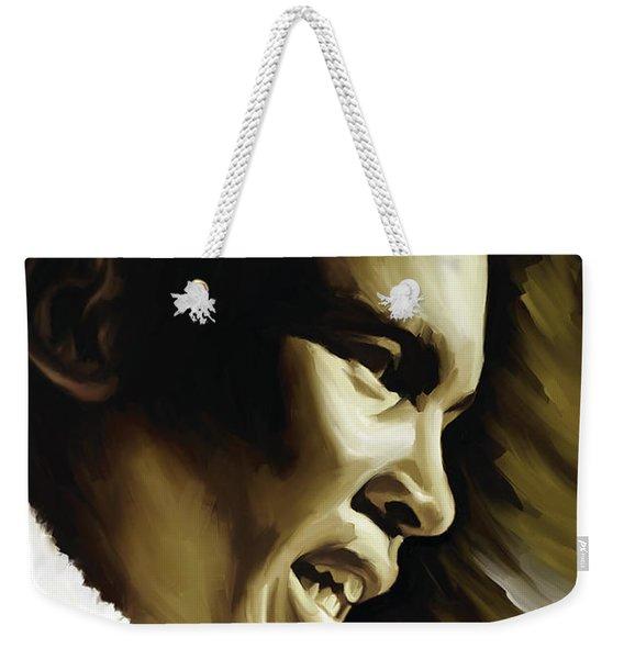 Muhammad Ali Boxing Artwork Weekender Tote Bag