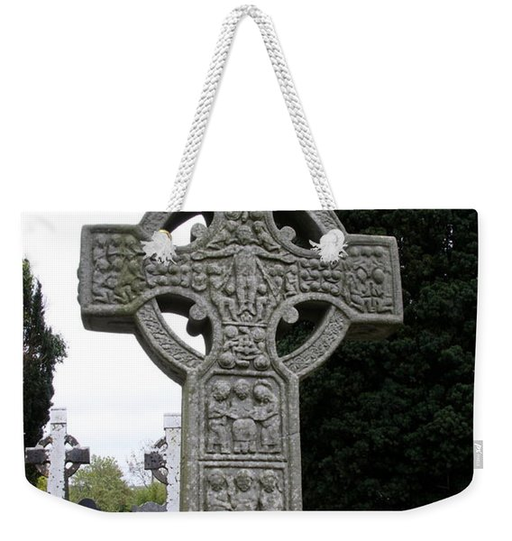 Muiredach's Cross - Monasterboice Weekender Tote Bag