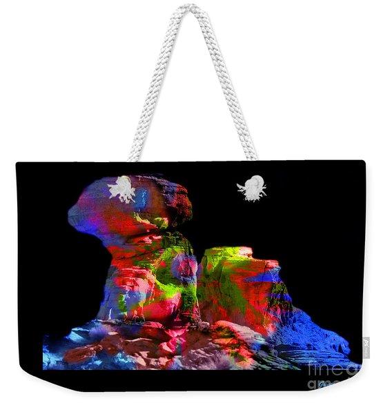 Mushroom Rock Weekender Tote Bag