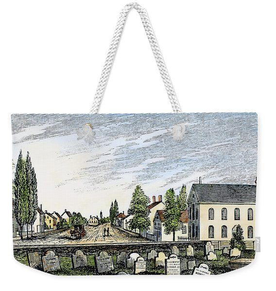 New Jersey Swedesboro Weekender Tote Bag
