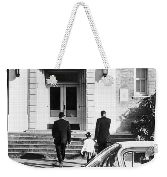New Orleans School Integration Weekender Tote Bag