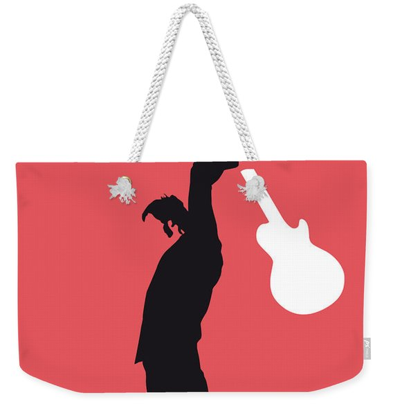 No002 My The Who Minimal Music Poster Weekender Tote Bag