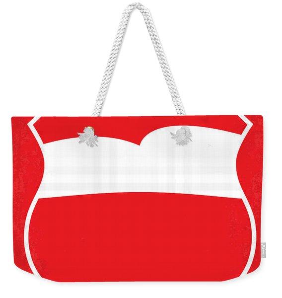 No378 My Incredibles Minimal Movie Poster Weekender Tote Bag