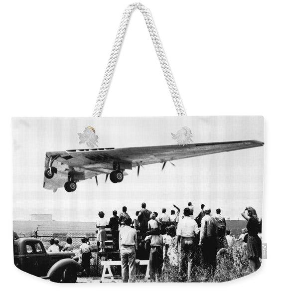 Northrop's Flying Wing Bomber Weekender Tote Bag