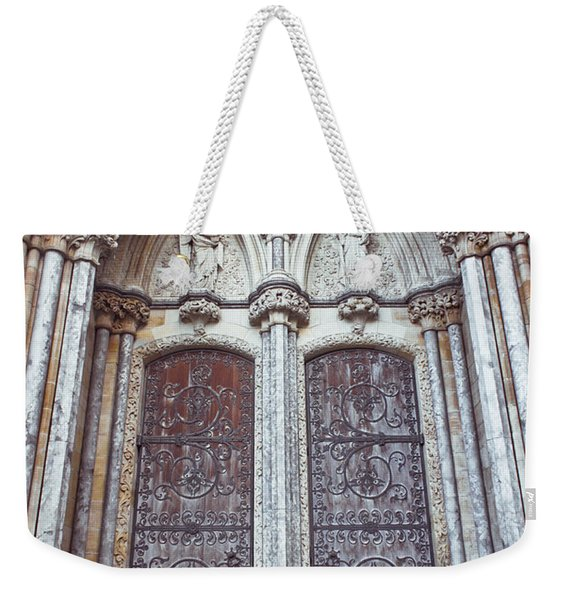 Norwich Cathedral Weekender Tote Bag