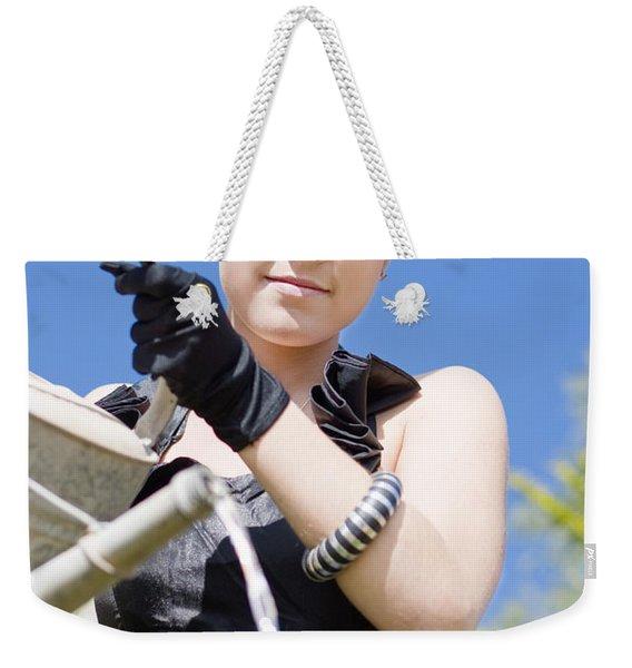 Nurturing Mother Nature Weekender Tote Bag