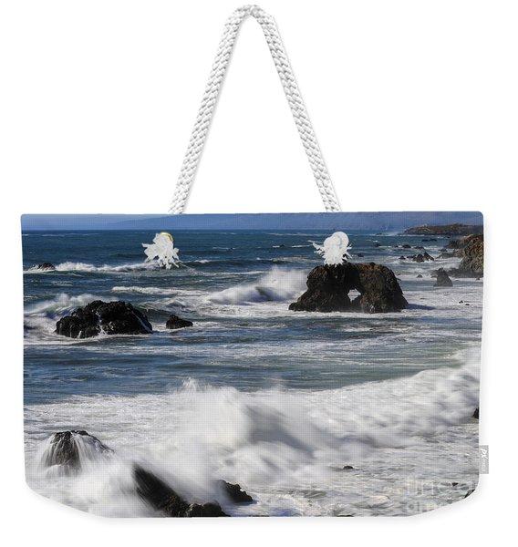 Ocean View Weekender Tote Bag