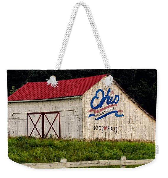 Ohio Bicentennial Barn Weekender Tote Bag