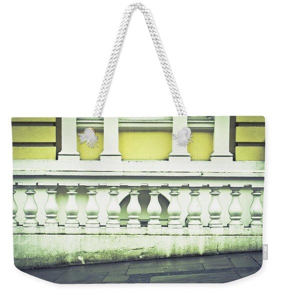 Old Architecture Weekender Tote Bag
