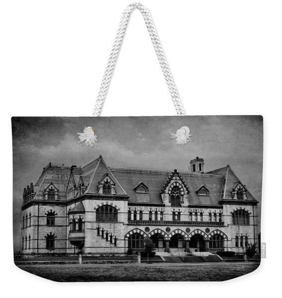 Old Post Office - Customs House B W Weekender Tote Bag