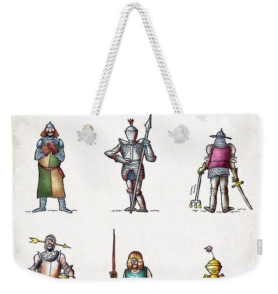 One Knight Stands Weekender Tote Bag