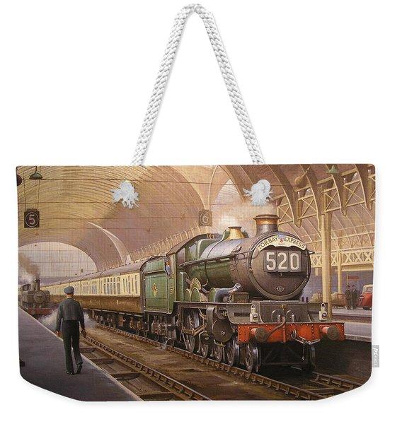 Paddington Arrival. Weekender Tote Bag