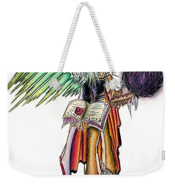 Pelusis God Of Law And Order Weekender Tote Bag