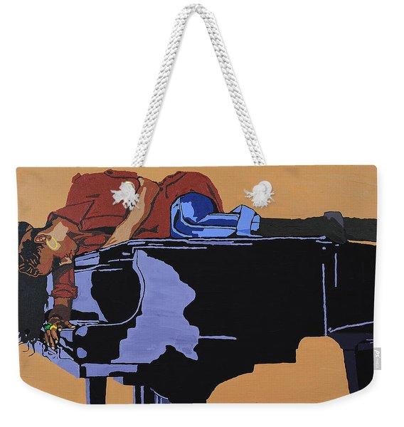 Piano And I Weekender Tote Bag