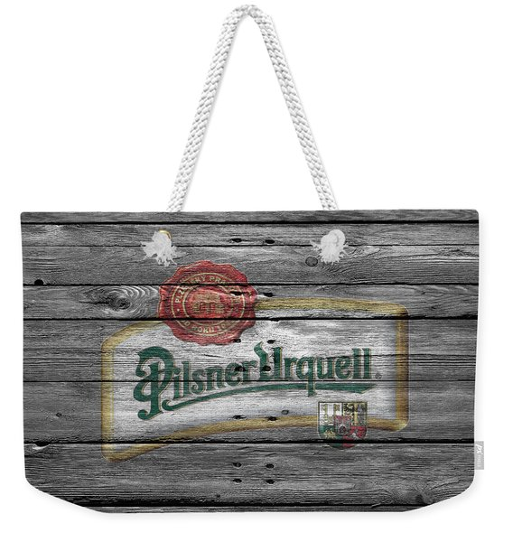 Pilsner Urquell Weekender Tote Bag