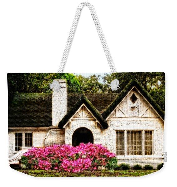 Pink Azaleas - Old Southern Charm By Sharon Cummings Weekender Tote Bag