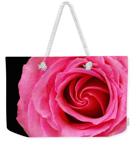 Pink Rose  Weekender Tote Bag