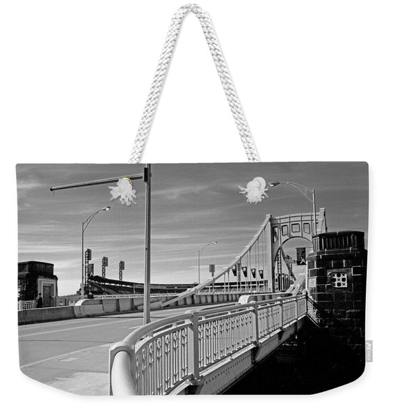 Pittsburgh - Roberto Clemente Bridge Weekender Tote Bag