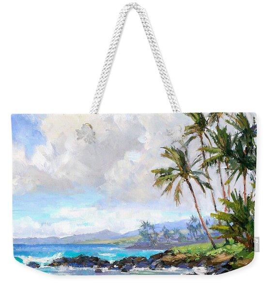 Poipu Beach #1 Weekender Tote Bag