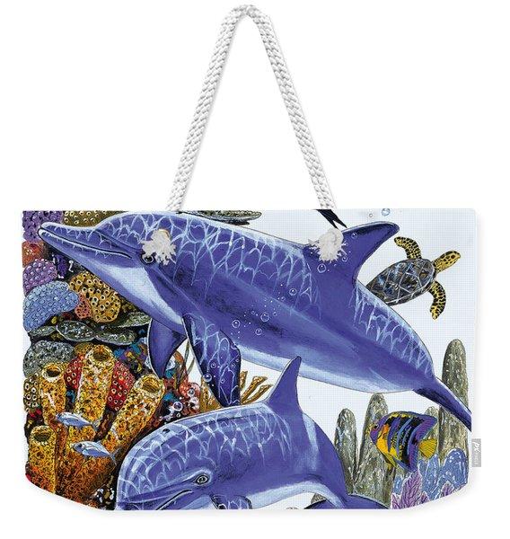 Porpoise Reef Weekender Tote Bag