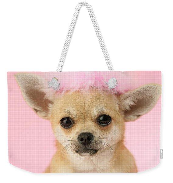 Queen Chihuahua Weekender Tote Bag