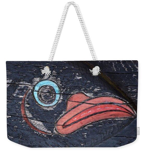 Raven Totem Figure Weekender Tote Bag
